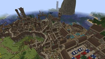 Medieval Kingdoms Minecraft Map & Project