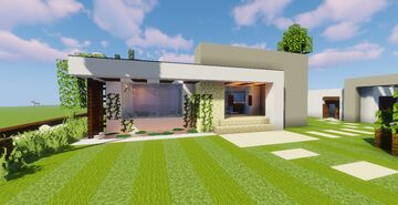 Modern House #52  (Map + Schematic) Minecraft Map & Project