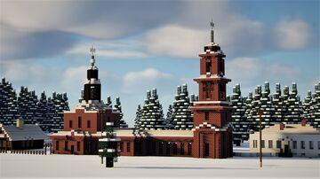 Old Russian Church - near Saint Petersburg, 1893 Minecraft Map & Project