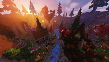 ⭐» KITPVP ARENA «⭐ | FOR 1.7+ • 150x150 SIZE • SPAWN ISLAND • KOTH PLACE & more Minecraft Map & Project