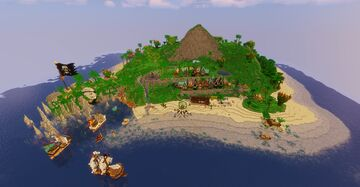 A new Generation of Pirate - Buccaneer Bay Build Contest Entry Minecraft Map & Project