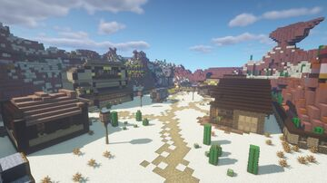Old Town Minecraft Map & Project