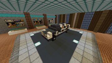 Custom Car #4 Minecraft Map & Project