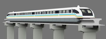 Shanghai Transrapid Maglev Minecraft Map & Project