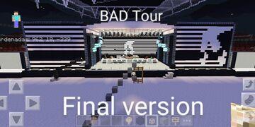 BAD Tour Wembley final version Michael Jackson Minecraft Map & Project