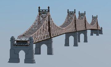 Queensboro Bridge, New York Minecraft Map & Project