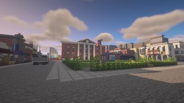 Hill Valley, California, from Back to the future. Minecraft Map & Project