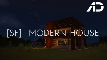 Alchari The Architect - [SF] Modern House Minecraft Map & Project