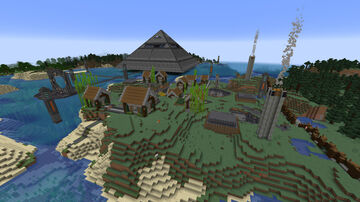 Stargate Goa'uld Mothership God RA Minecraft Map & Project
