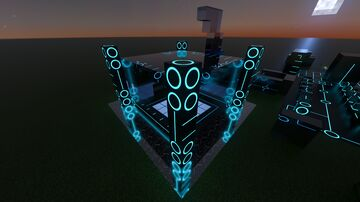 G3N3ZIS RTX sci-fi/alien map and resource pack. Version 0.1 Minecraft Map & Project