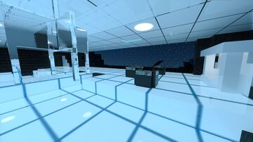 """""""Trip to the Grid"""".  Study and experiment in light and materials. """"Biodigital Jazz man!"""" Minecraft Map & Project"""