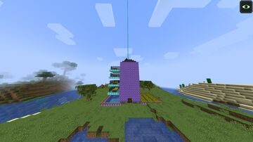 Super Hotel Minecraft Map & Project