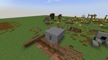 WW1 Werstern Front Minecraft Map & Project