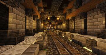 Underground subway Minecraft Map & Project