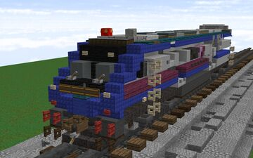 1.5:1 ACEX ACE Siemens SC-44 Minecraft Map & Project