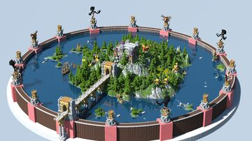 The Hub of Christorica Minecraft Map & Project