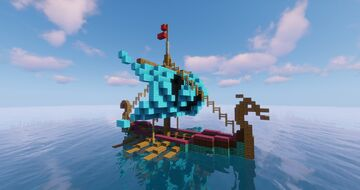 Assassin's Creed: Valhalla - Drakkar Longship 1.16+ [Complete] Minecraft Map & Project
