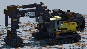 Volvo EC950F Excavator [With Download] Minecraft Map & Project