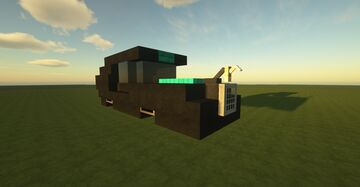 Cyber Car Minecraft Map & Project