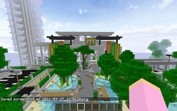 Mall Little Kelly and Little Carly Minecraft Map & Project