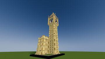 Big Ben : Miniature model Minecraft Map & Project