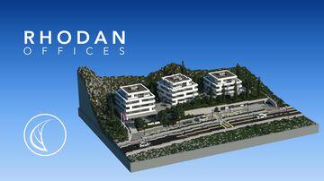 Rhodan   Distinctive Offices Minecraft Map & Project