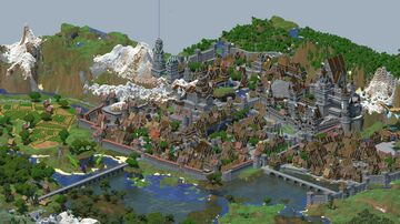 Kingdom of Majesta Minecraft Map & Project