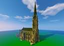 St. James' Cathedral Church, Toronto Minecraft Map & Project