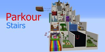 Parkour Stairs Minecraft Map & Project