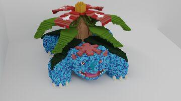 Venesaur  - downloadable Minecraft Map & Project