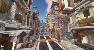 Hammersmith (Steampunk City) Minecraft Map & Project