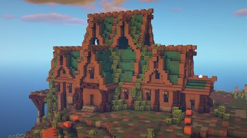 Big Rustic House [DOWNLOAD] Minecraft Map & Project
