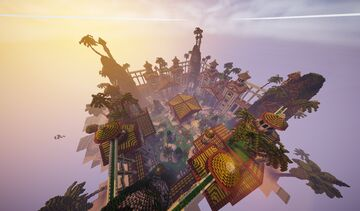 Spawn+warzone type Grec (not Free) Minecraft Map & Project