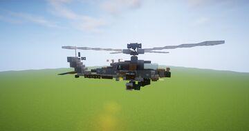 AH-64 Apache Minecraft Map & Project