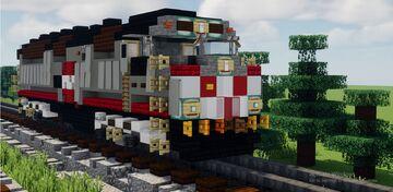 Caltrain F40PH-2CAT Minecraft Map & Project