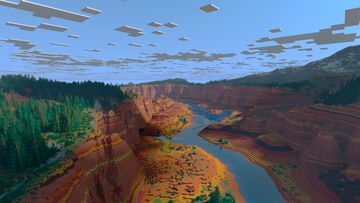Canyon of Gaià Minecraft Map & Project