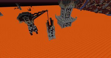 Custom Nether Biome Terrain Generation Minecraft Map & Project