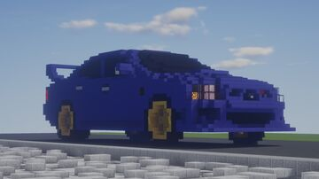 Subaru Impreza WRX STi (2006) Minecraft Map & Project