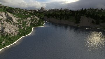 Canadian mountains - 3200x3200 [WorldPainter] Minecraft Map & Project