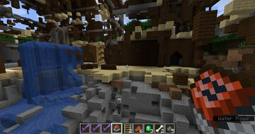 The blown up mansion Minecraft Map & Project