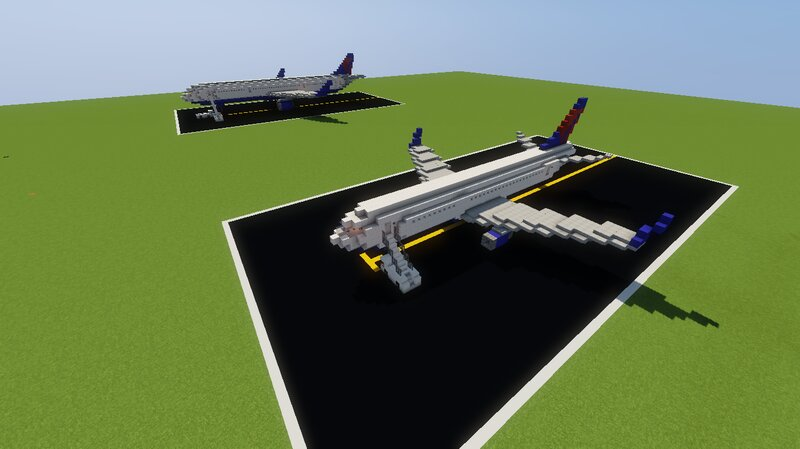 Landed Plane in the background is my 757, it was made after this, but I recently updated the 737 and took new screenshots