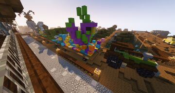 Partying Parrot Float Minecraft Map & Project