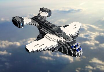 C.E.C. Advanced Dropship Minecraft Map & Project