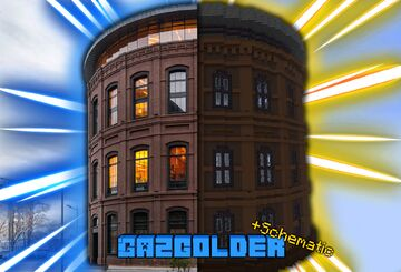 🏭 Gazgolder 🏭 +download +shematic Minecraft Map & Project
