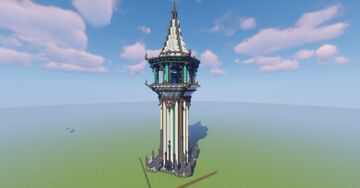 Portal in the Sorcerer's  Watchtower Minecraft Map & Project