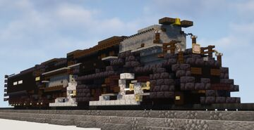 1.5:1 Scale Union Pacific Big Boy #4014 Steam Locomotive Minecraft Map & Project