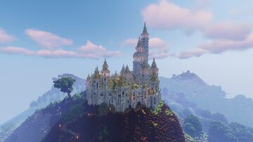 The Cloudgate - A Fantasy Castle Minecraft Map & Project