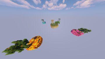 1.16.5 Skywars Map! (5 Islands) #3 Minecraft Map & Project