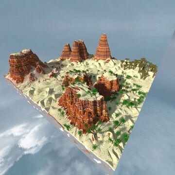 Desert PVP map Minecraft Map & Project