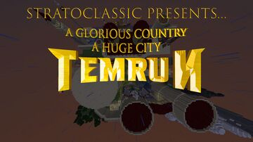 Huge Medieval City - TEMRUN - A GLORIOUS COUNTRY , A HUGE CITY Minecraft Map & Project